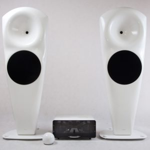 Zestaw stereo High-End EGG-SHELL & hORNS