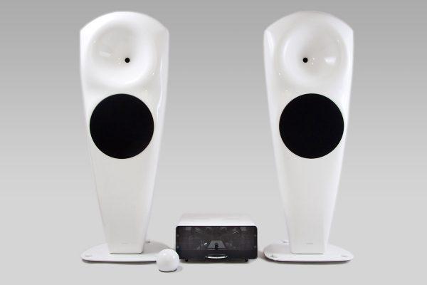 EGG-SHELL i hORNS - zestaw hi-fi stereo klasy High-End