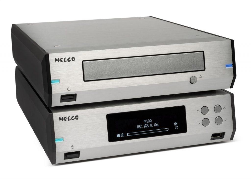 Melco N100 & D100 silver 01