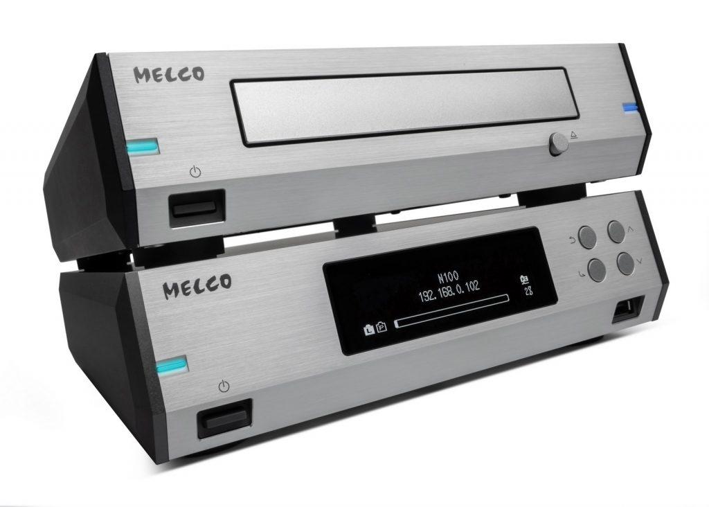 Melco N100 & D100 silver 06