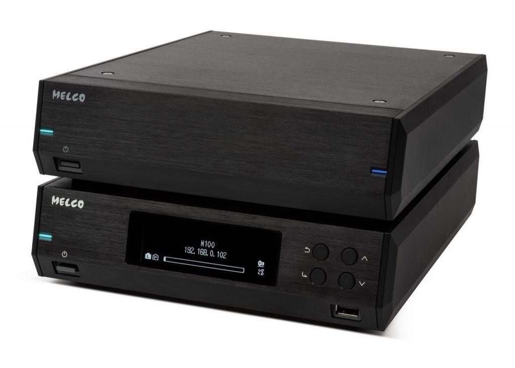 Melco N100 & E100 black 02