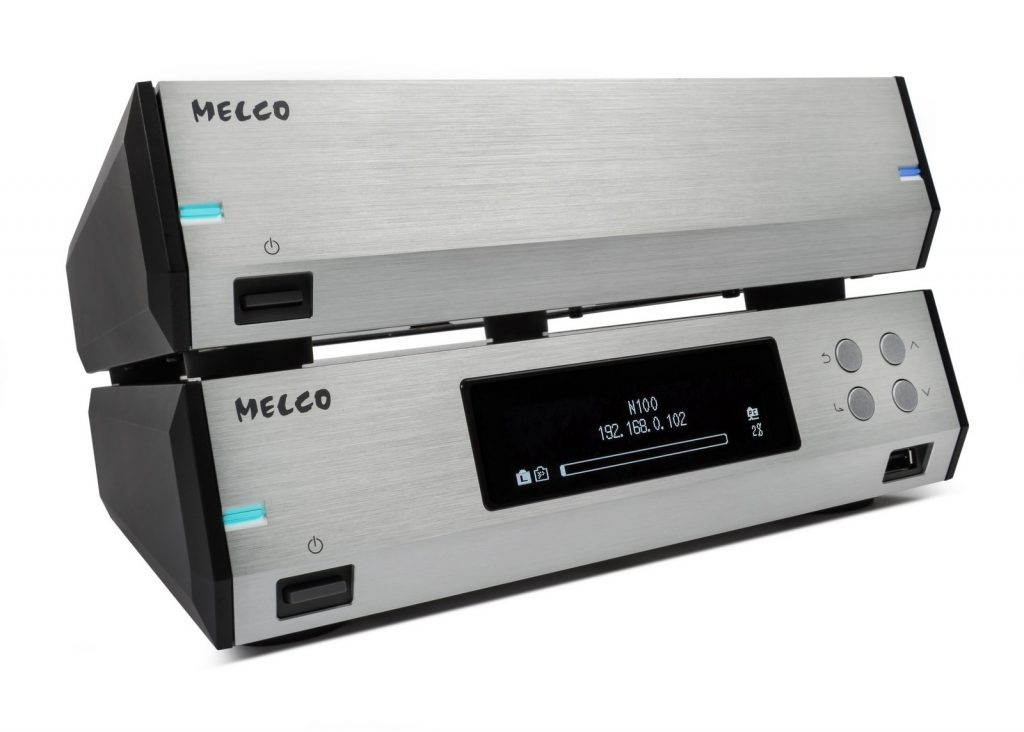 Melco N100 & E100 silver 06