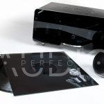 Polski wzmacniacz lampowy stereo EGG-SHELL Prestige 9.3 czarny Lord + płyta winylowa gratis